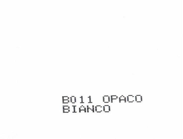 Bianco - B011